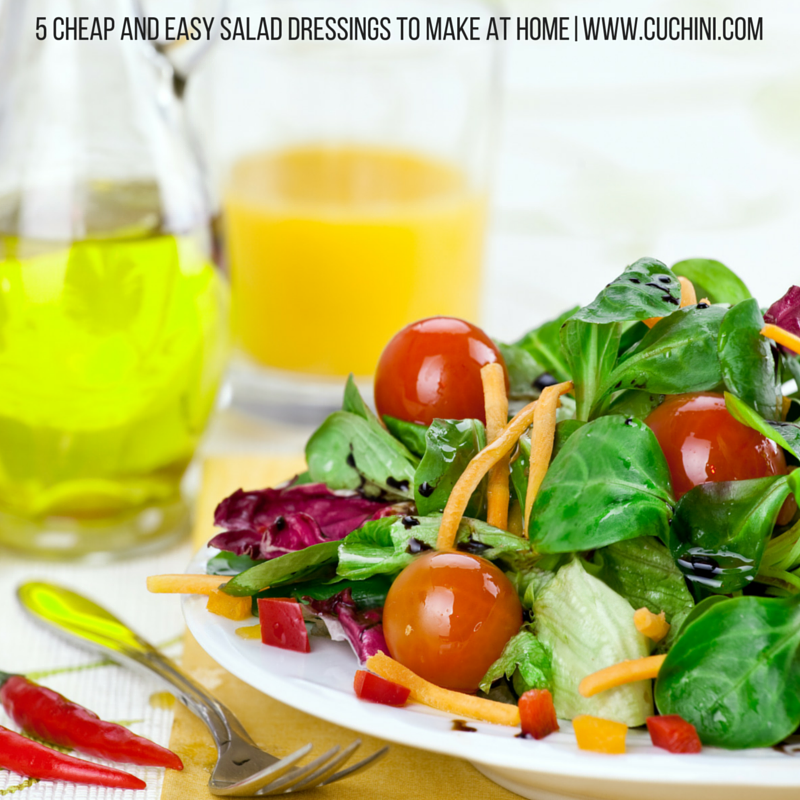 how to make veg salad dressing at home