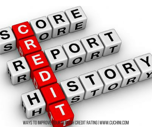 Ways to Improve your Rubbish Credit Rating