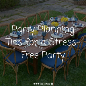Party Planning Tips for a Stress-Free Party