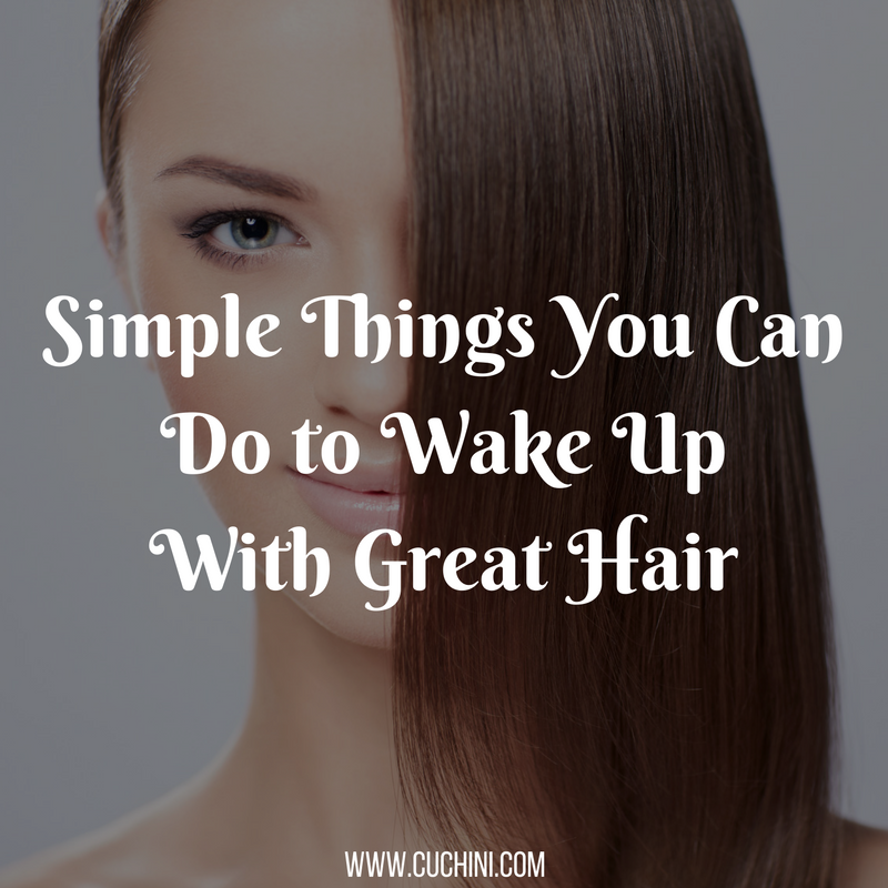 Simple things you can do to wake up to great hair for Getting rid of stuff minimalist