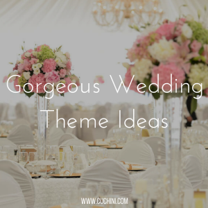 Gorgeous wedding theme ideas
