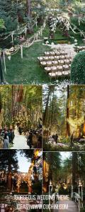 Gorgeous wedding theme ideas