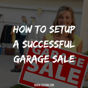 How to Setup a Successful Garage Sale