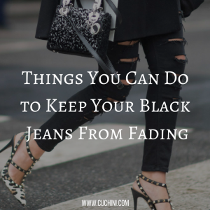 Things You Can Do to Keep Your Black Jeans From Fading