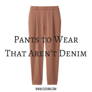 Pants to Wear That Aren't Denim