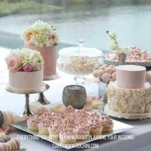 Everything you need to know about planning your wedding cake