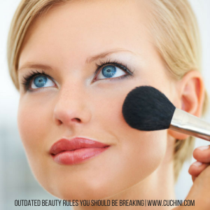 Outdated Beauty Rules You Should Be Breaking