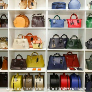 Storage Ideas for Your Precious Bag Collection
