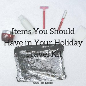 Items You Should Have in Your Holiday Travel Kit