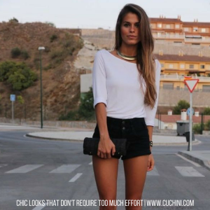 Chic Looks That Don't Require Too Much Effort